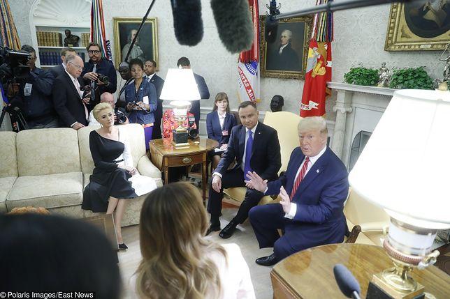 Para prezydencka RP w Białym Domu.