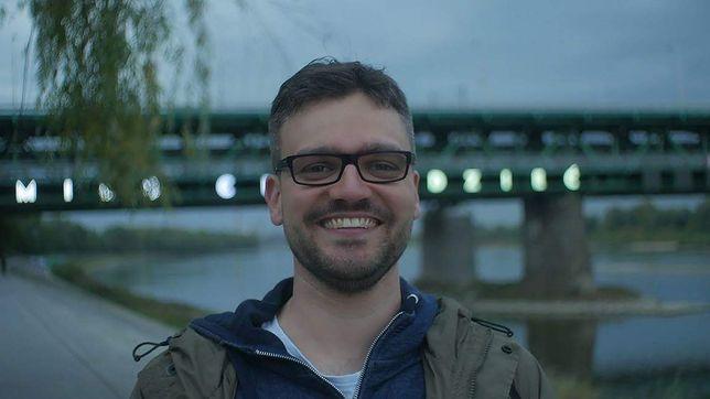"""Adam Drzewicki z kanału """"Matura To Bzdura""""."""