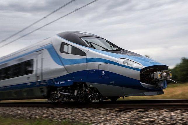 Zaczynają się testy Pendolino na liniach kolejowych