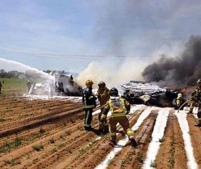 Katastrofa wojskowego samolotu transportowego w Hiszpanii