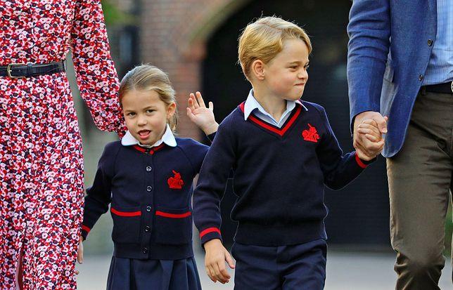 Książę George i księżniczka Charlotte napisali list do św. Mikołaja