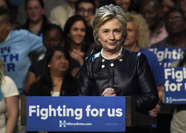 Hillary Clinton na planie klipu Beyoncé
