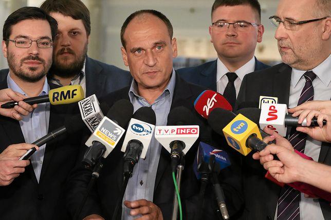 """Paweł Kukiz apeluje do prezydenta, by """"potraktował obywateli poważnie"""""""