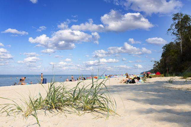 Plaża w miejscowości Pobierowo