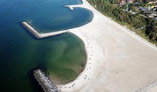"""Tak prezentuje się plaża """"Dubaj"""" w Jarosławcu"""