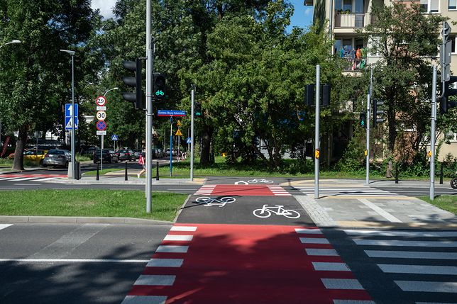 Warszawa. Nowa sygnalizacja świetlna (fot. Zarząd Dróg Miejskich)