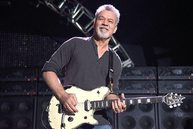 Eddie Van Halen nie żyje. Miał 65 lat