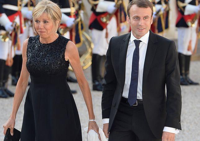 Brigitte Macron boi się o swoje małżeństwo. Przeraża ją zdrada męża