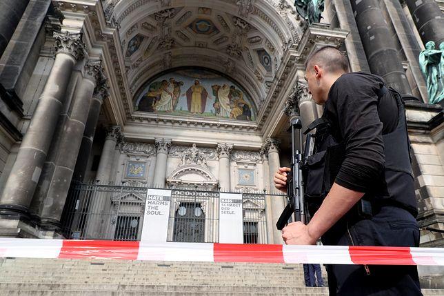 Padły strzały w berlińskiej katedrze