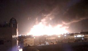 Pożar w rafinerii naftowej w Bukajk w Arabii Saudyjskiej