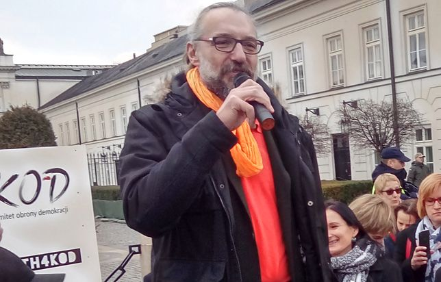 Mateusz Kijowski porównuje się do ks. Jerzego Popiełuszki?