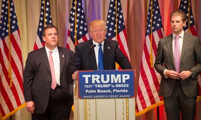 Superwtorek: Donald Trump wygrywa, ale mniej spektakularnie niż myślano