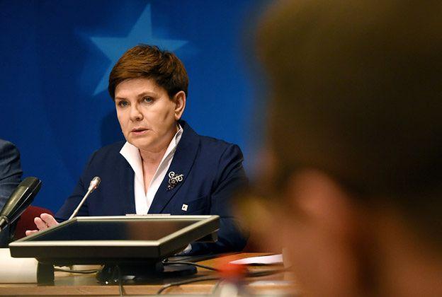 Premier Szydło: ewentualna rezolucja PE ws. Polski aktem desperacji opozycji