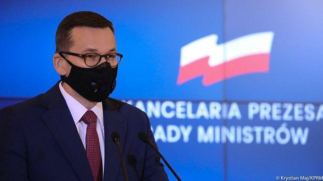 Konferencja premiera Mateusza Morawieckiego