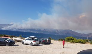 Pożary w Chorwacji/fot. @Boylekindurrit