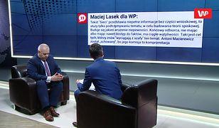 """Maciej Lasek ostro o rewelacjach """"Sieci"""" ws. Tu-154M. Reakcja Jacka Sasina"""