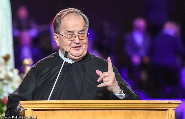 Ojciec Tadeusz Rydzyk podczas toruńskich obchodów Radia Maryja krytykował rząd PiS