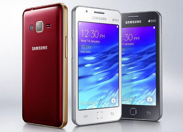 Samsung Z1 - pierwszy smartfon z systemem Tizen
