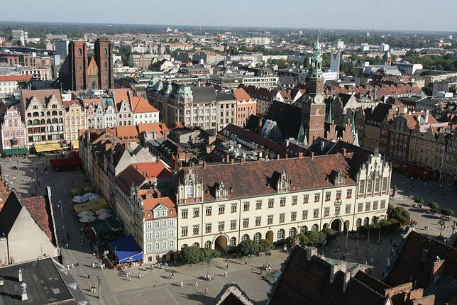 W czwartek na wrocławskim rynku doszło do niebezpiecznej sytuacji.