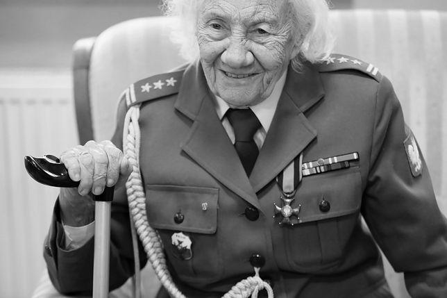 Danuta Gałkowa uratowała żołnierzy z płonącego szpitala