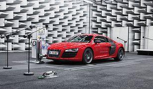 Elektryczne Audi ze sztucznym dźwiękiem