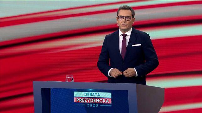 Michał Adamczyk - gospodarz prezydenckich debat  TVP