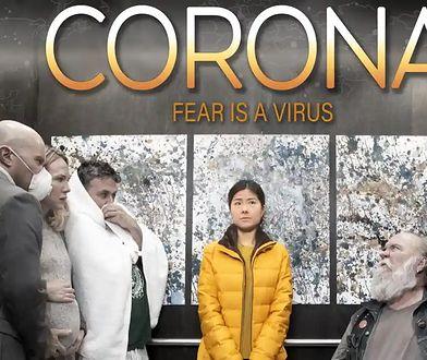 """Tak prezentuje się plakat do filmu """"Corona"""""""