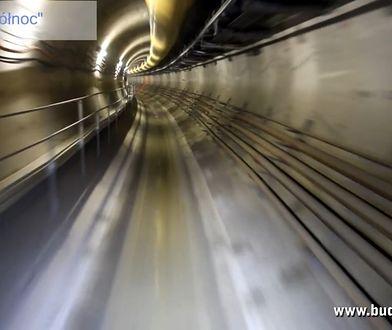 Przejażdżka tunelem metra (wideo)