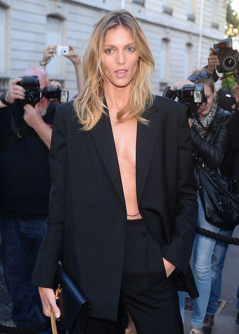 Anja Rubik na imprezie Vogue Paris Gala Dinner