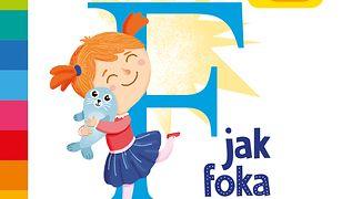 F jak foka. Akademia mądrego dziecka. Literkowe przedszkole