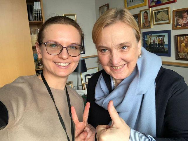 Ludmiła Kozłowska i Róża Thun