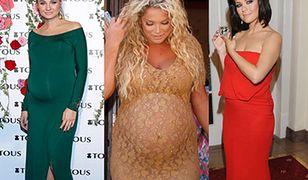 Nawet w ciąży wyglądają modnie i z klasą!