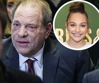 Według piosenkarki Weinstein mógł położyć łapy na małoletniej tancerce