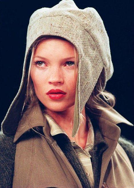 Kate Moss na pokazie Anne Klein w 1994 roku