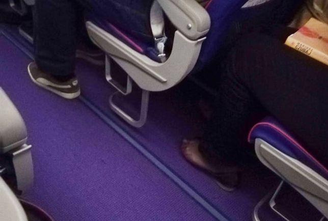 Czytelniczka opowiedziała o tym, co widziała w samolocie