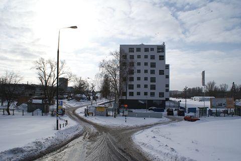 Górczewska Park - park jest, ale maszynowy