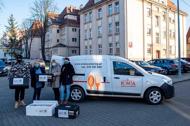 Koronawirus. Już 10 tys. posiłków trafiło do wrocławskich medyków. Na tym nie koniec