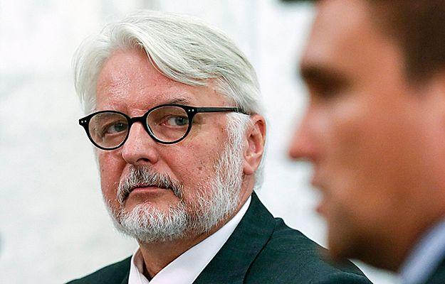 Waszczykowski o rezolucji Parlamentu Europejskiego: pozostaje ją ignorować