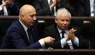 """Brudziński: """"Kaczyński wymyślił 500+, to jest kaczorowe"""""""