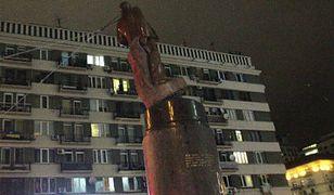 Pomnik Lenina powalony