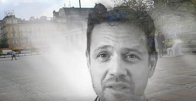 Kadr ze spotu, opublikowanego przez Patryka Jakiego