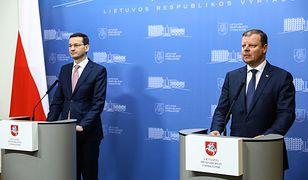 """Saulius Skvernelis stwierdził, że Polska jest """"strategicznym partnerem"""" dla Litwy"""