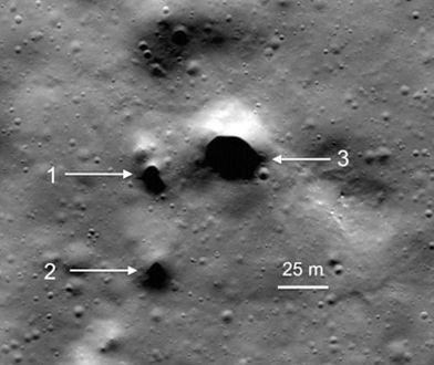 Otwory mogą w przyszłości pomóc w kolonizacji Księżyca.