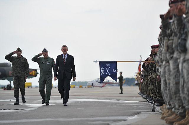 Amerykańscy wojskowi przylecieli do Polski na ćwiczenia