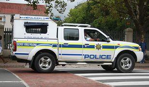 Radiowóz południowoafrykańskiej policji.