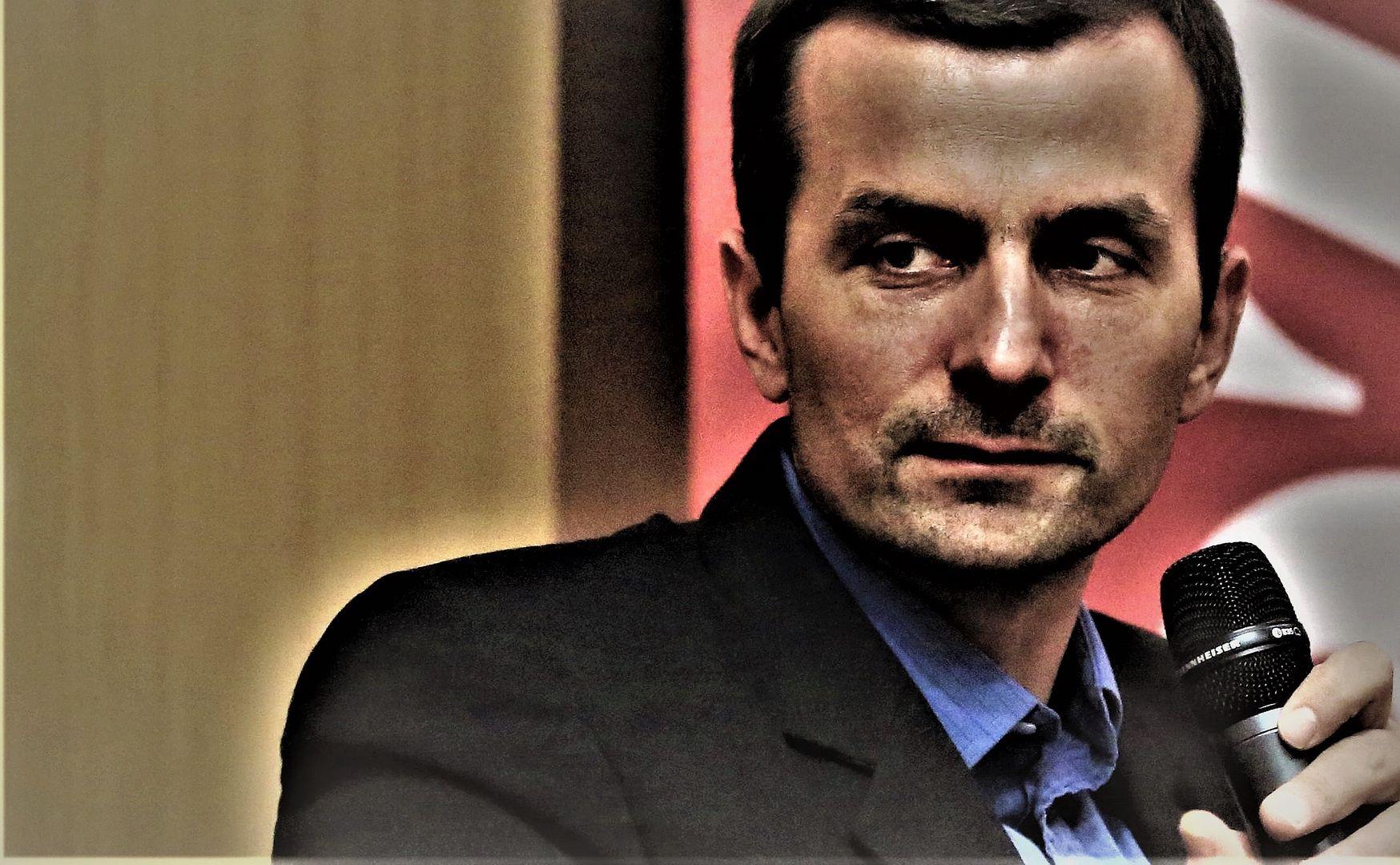 """Adam Leszczyński, autor """"Ludowej historii Polski"""", fot. Jacek Marczewski //"""
