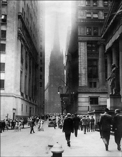Nowy Jork o poranku, 24 października 1929 r.