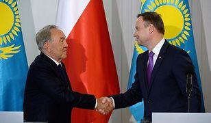 Duda: wizyta Nazarbajewa wyznacza nowe kierunki współpracy Polski i Kazachstanu
