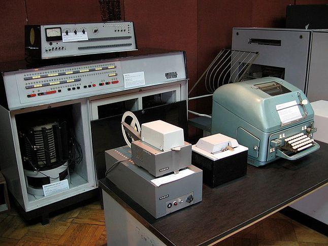 Odra 1013 numer seryjny 005 z 1966 r. w Muzeum Techniki Warszawa