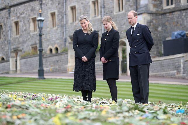 Lady Louise z rodzicami